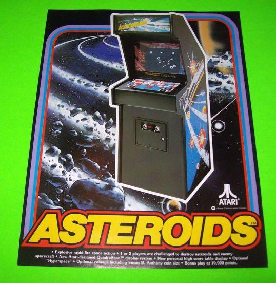 Asteroids cabinato
